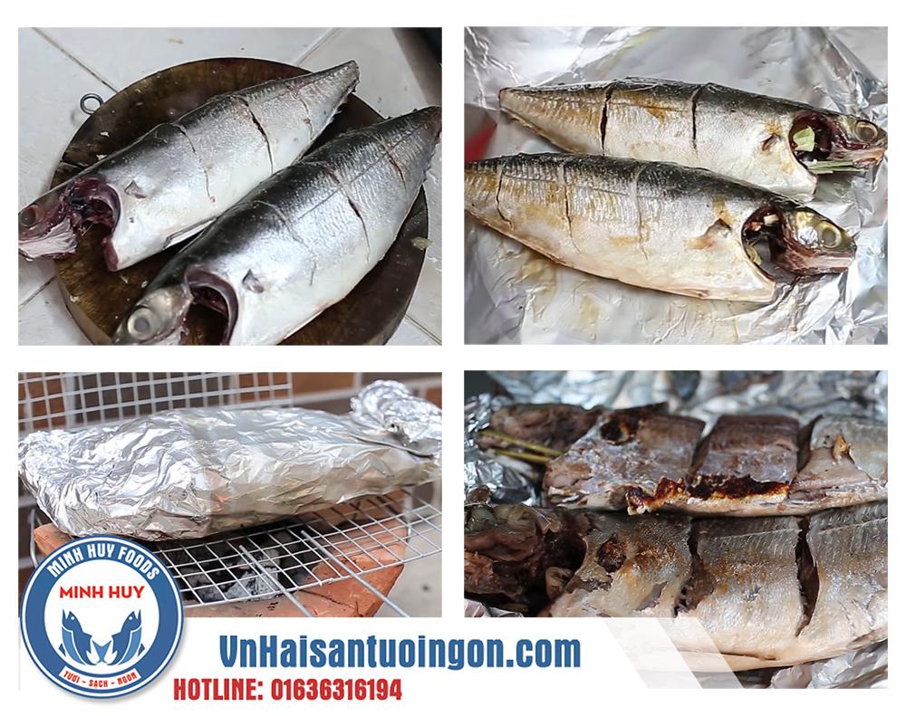 Hướng dẫn chế biến cá sòng nướng giấy bạc