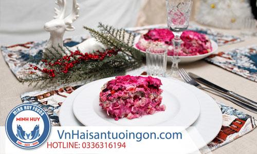 Các món ăn truyền thống châu Âu mùa giáng sinh