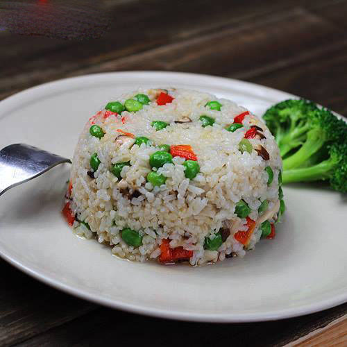 Cơm chiên chay đậu Hà LAn
