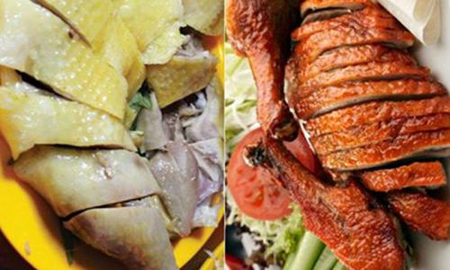 Dinh dưỡng thịt gà và thịt vịt