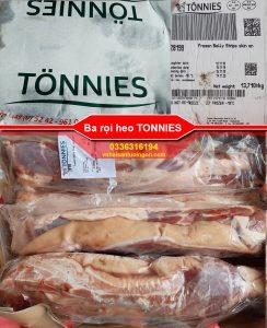 Ba rọi heo Tonnies