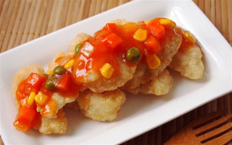 Phi lê cá basa sốt chua ngọt
