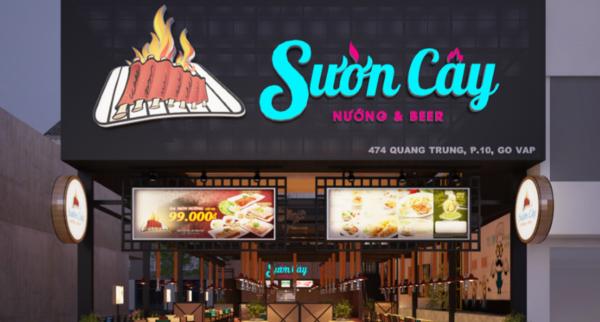 Top các nhà hàng buffet nướng ngon và nổi tiếng tại Sài Gòn - Sườn cây nướng và Beer