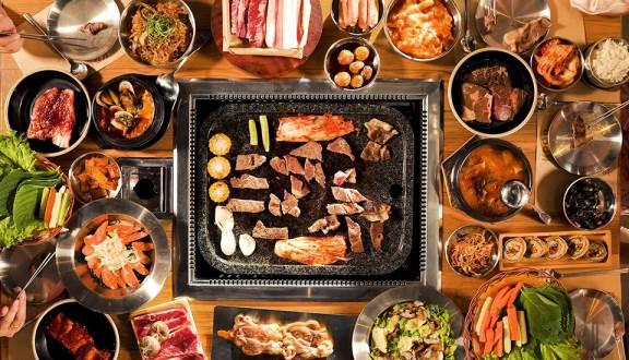 Các món nướng trong nhà hàng KPub