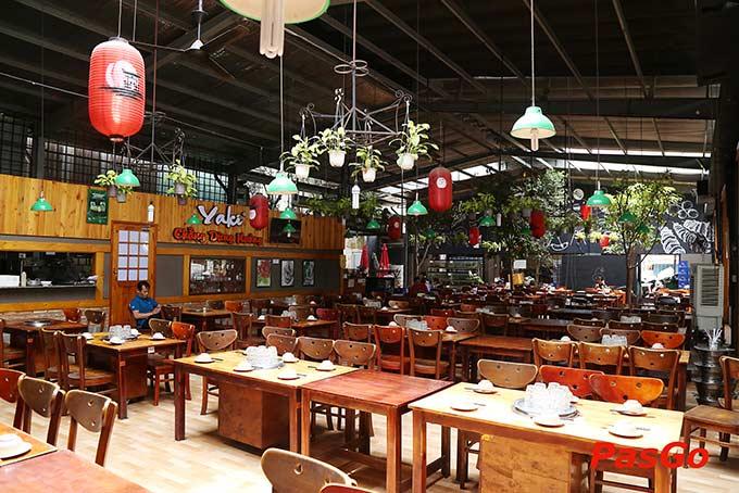 CHuỗi nhà hàng món nướng Chuỗi Quán Nướng Yaki