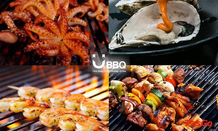 Món nướng nhà hàng U.BBQ Buffet
