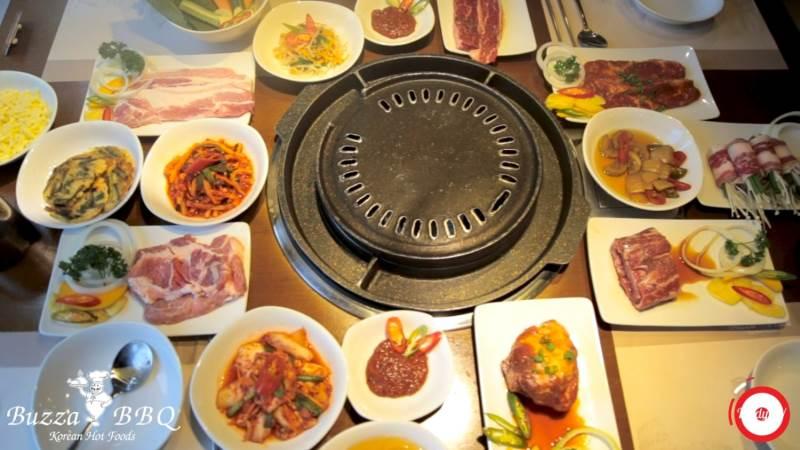 Món nướng chuỗi nhà hàng nướng Chuỗi Bangkok BBQ