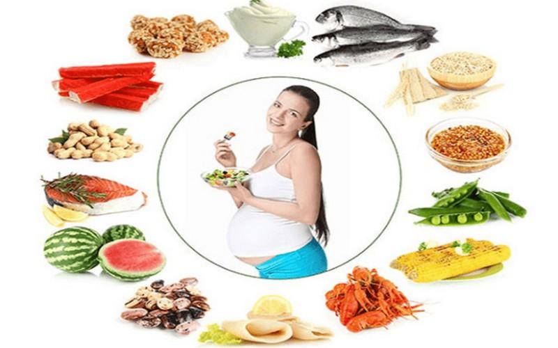 Thực đơn cực kỳ dinh dưỡng cho mẹ bàu 2 tháng