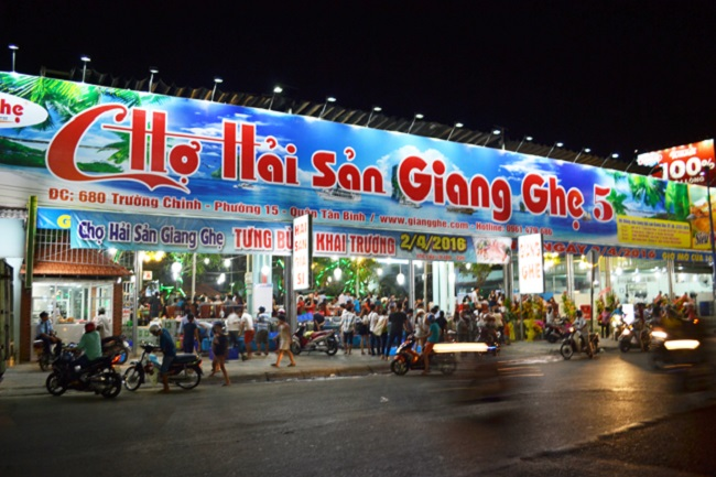 Chợ hải sản Giang Ghẹ