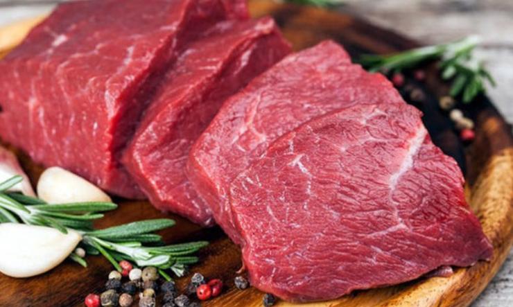 Thịt bò ngon thường màu hồng