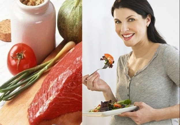 Thịt bò tốt cho thai nhi