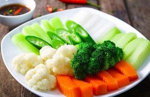 Các loại rau củ quả chính là thực phẩm thần thánh giảm cân
