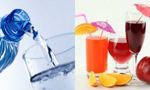 Uống nhiều nước trái cây