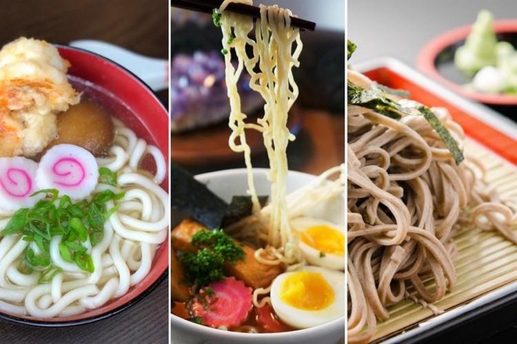 Mì Soba, Udon và Ramen
