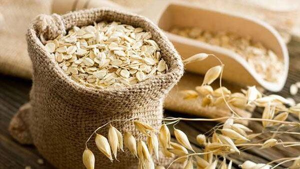 Chế độ ăn với bột yến mạch