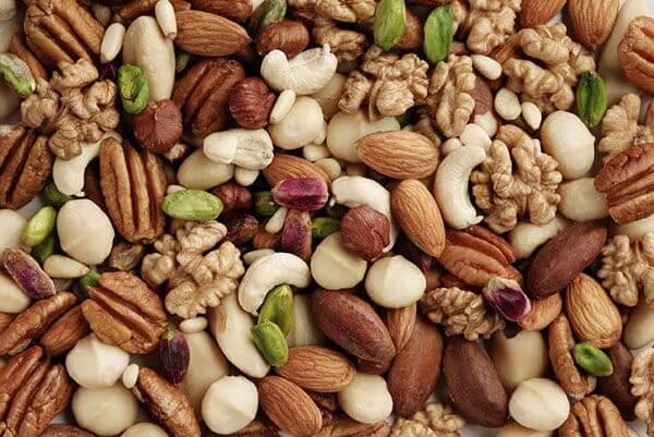 Chế độ ăn với các loại quả khô