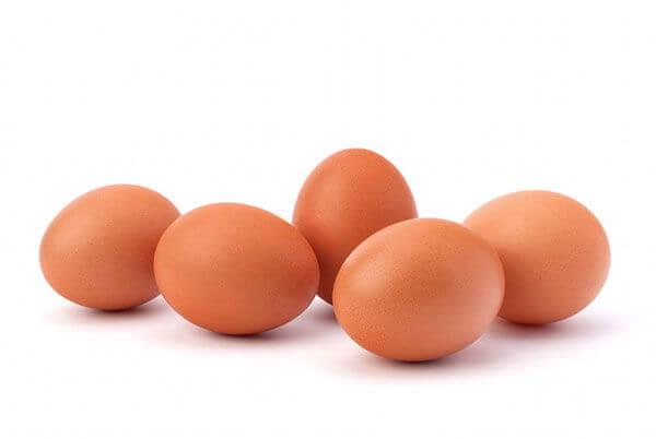 Chế độ ăn với trứng