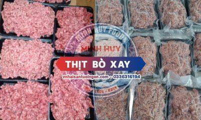 Minh Huy Foods cung cấp sỉ lẻ thịt bò xay giá tốt