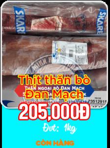 Thịt thăn bò Đan Mạch