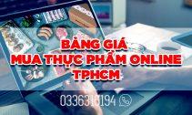 Bảng giá lẻ thực phẩm online tphcm cập nhật mới nhất Minh Huy Foods